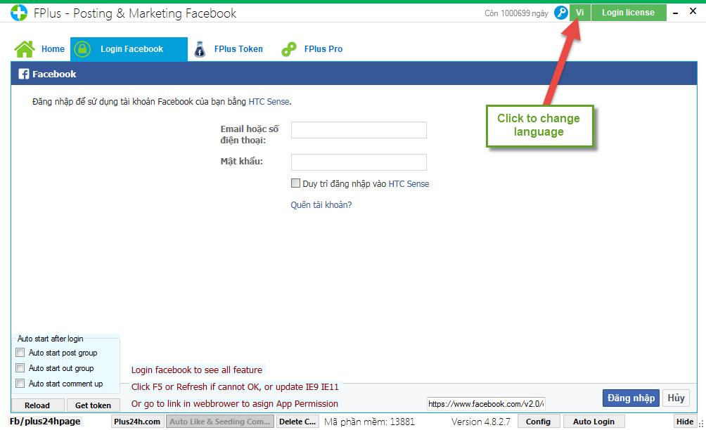 Download Facebook FPlus